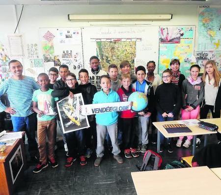 Les élèves hissent les voiles dans le sillage du Vendée globe | Collège Jean Moulin | Scoop.it