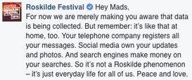 Rockfestival Roskilde geeft een lesje mediawijsheid | Mediawijsheid in het VO | Scoop.it