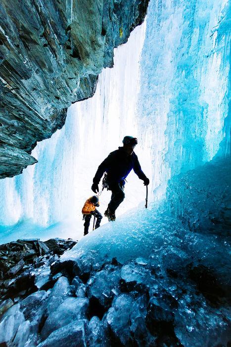 Ice climbers, New Zealand byAndrew Peacock   My Photo   Scoop.it