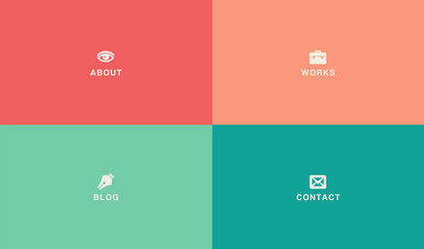 Fullscreen Layout with Page Transitions | Codrops | Responsive design & mobile first | Scoop.it