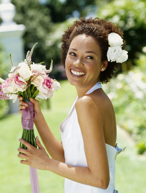 Wedding Hairstyles For Natural Hair | Destination Wedding Hairstyles | Scoop.it
