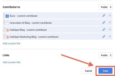 How to Add Google Authorship for Multiple Websites to Google+ [Quick Tip] | Time to Learn | Scoop.it