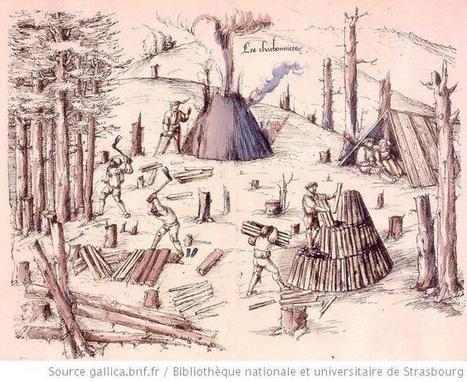La Croix-aux-Mines en dessin : les ouvriers de la mine - généalogie et histoires lorraines | Auprès de nos Racines - Généalogie | Scoop.it