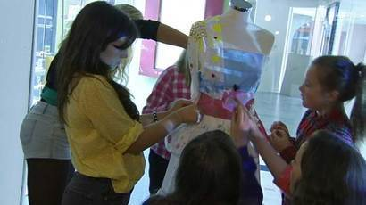 Fashion workshops proving a hit with budding young designers | Business Scotland | Scoop.it