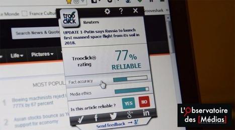 Trooclick, les Français qui misent sur le fact-checking automatisé | cross pond high tech | Scoop.it