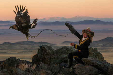 The young eagle hunters of Mongolia | Women's Issues | Scoop.it
