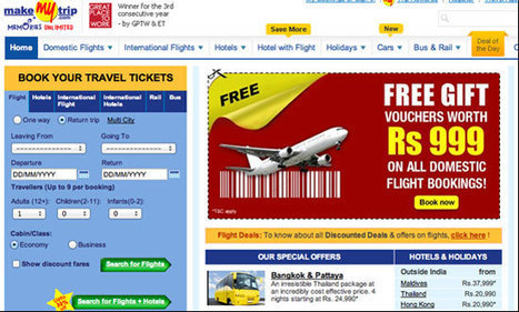 Indian giant MakeMyTrip makes its next moves | Social Media- & Content Marketing, PR 2.0 for MICE, Tourism & Destination Marketing | Scoop.it
