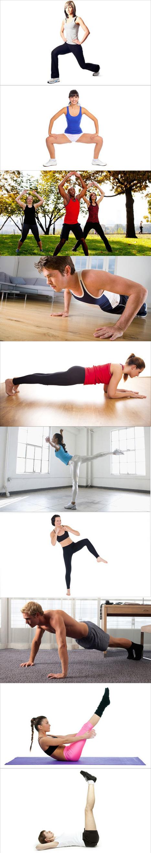 10 exercices à faire sans équipement pour un entraînement efficace | En Forme et en Santé | Scoop.it