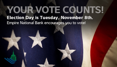 Election Day | News and Insights for Better Banking | Scoop.it