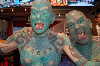 Will the Real Lizardman Please Show His Forked Tongue? | Strange days indeed... | Scoop.it