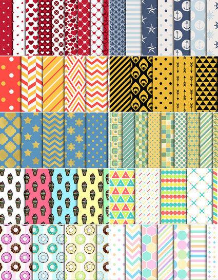La reina de los patrones (descargables y gratis) | El Mundo del Diseño Gráfico | Scoop.it