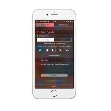 Nouveau : le widget iPhone/iPad qui pilote la musique du Mac - iPhone 6, 6 Plus, iPad et Apple Watch : blog et actu par iPhon.fr   Apple pratique   Scoop.it
