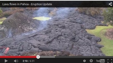 The Awesome Power of Lava: Watch Metal Burn! | Conformable Contacts | Scoop.it
