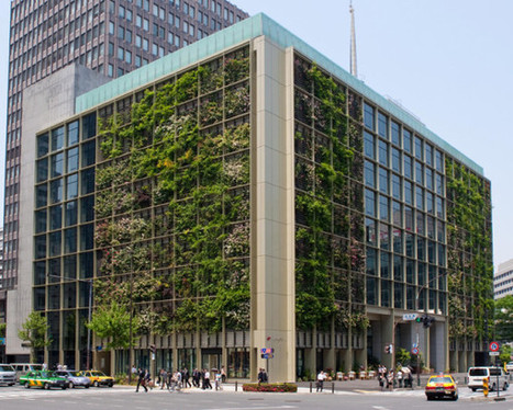 Pasona Urban Farm Engulfs Tokyo Office Building With Fresh Food - EarthTechling   Aquaponics   Scoop.it