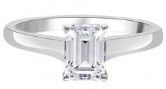 Julia Engagement Ring - Emerald Cut Diamond Engagement Ring | Engagement Rings Dublin. | Scoop.it