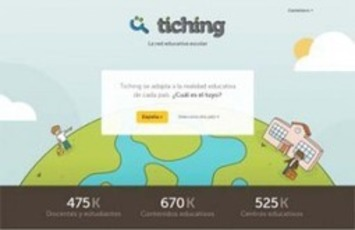 Tiching, una red educativa con miles de recursos - Educación 3.0 | Social Learning - MOOC - OER | Scoop.it