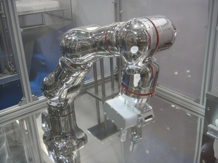 Stainless steel robot arm designed to experiment with drugs | Longevity science | Scoop.it