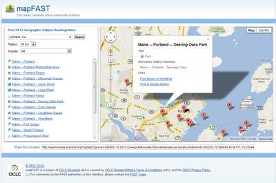 Map Fast - Find Books About Places via Google Maps | NOLA Ed Tech | Scoop.it