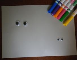 House of Baby Piranha: Wiggly Eye Drawing Starter   ELE niños   Scoop.it