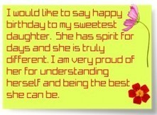 Happy Birthday Wishes for Daughter | Love Life Live Life | Scoop.it