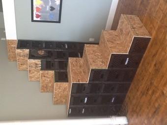 Inspired TreeHugger reader builds stair out of milk crates | Education and hope | Scoop.it