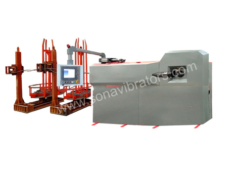 Automatic Stirrup making machine Available at sonavibartors.com | Stirrup Bender Machine | Scoop.it