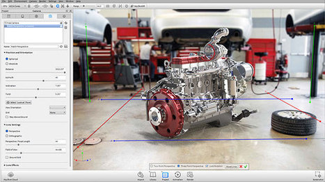 Make advanced 3d rendering & 3D animation with newly released KeyShot 5.2   News from Italy about Design & 3D Graphic   Scoop.it