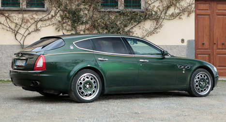 "Unique Maserati Quattroporte ""Shooting Brake"" model built for Ducati Company Owner Up for Auction 
