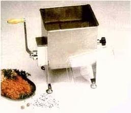 Stainless steel sausage stuffer | Free Standing Kitchen | Scoop.it