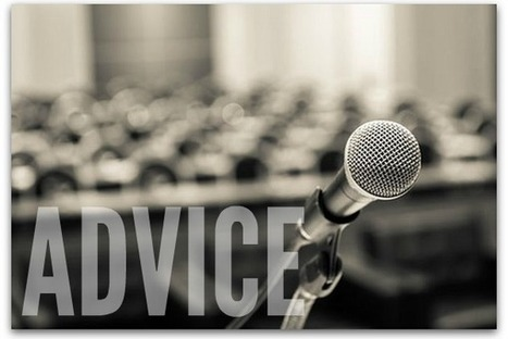 10 pieces of sage advice for public speaking success | Presentation Tips | Scoop.it