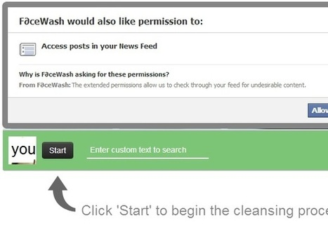 Use Facewash app and clean your facebook profile   Latest   Scoop.it