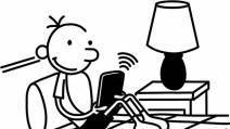 Diary of a Wimpy Kid author excited about move to e-books | The ... | Be Bright - rights exchange news | Scoop.it