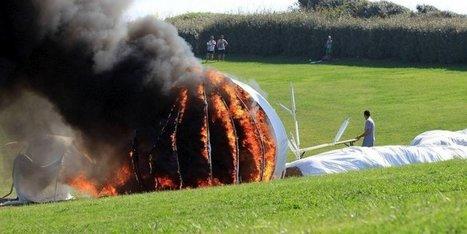 Biennale d'art contemporain d'Anglet : une œuvre détruite par les flammes | BABinfo Pays Basque | Scoop.it