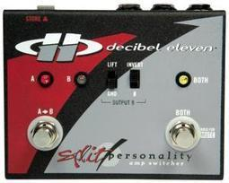 Decibel Eleven Introduces Split Personality High-Performance Amp Switcher | Tune Town Talk | Scoop.it