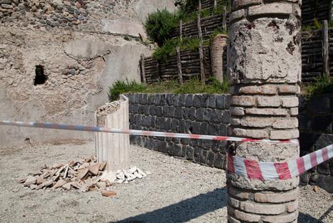 Italy promises UNESCO it will not abandon Pompeii - Art Daily | Cities of Vesuvius | Scoop.it
