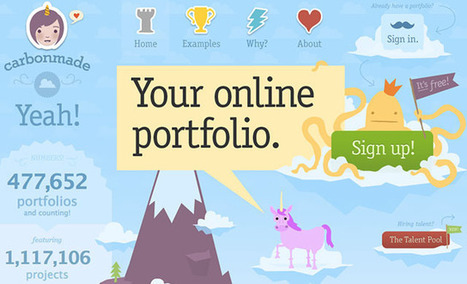 5 User-Friendly Tools for Building Your Online Portfolio | Time to Learn | Scoop.it