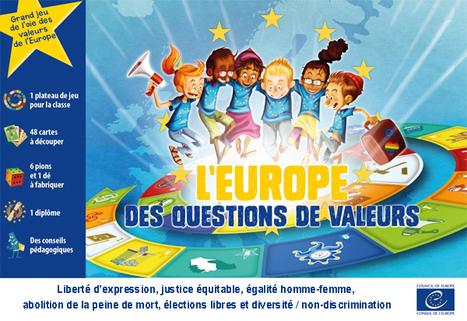 Un grand jeu éducatif sur les valeurs de l'Europe ! 8-12 ans | FLE enfants | Scoop.it