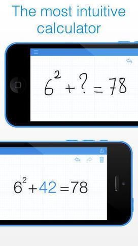 MyScript Calculator - Handwriting calculator | Web2.0 Tools for Staff and Students | Scoop.it