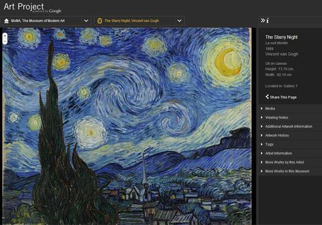 A powerful tool for all art educators: Art Project, powered by Google | @iSchoolLeader Magazine | Scoop.it