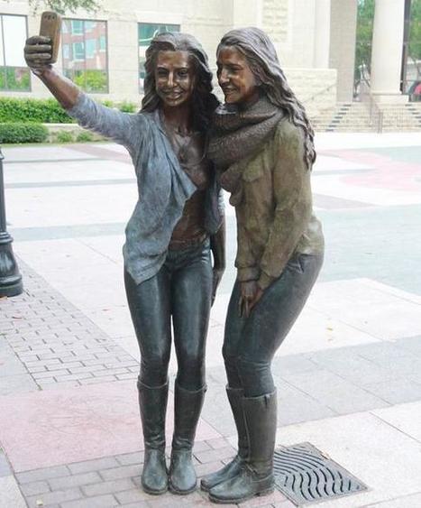 Selfie sculpture as public art inflames selfie-haters   Mediawijsheid in het VO   Scoop.it