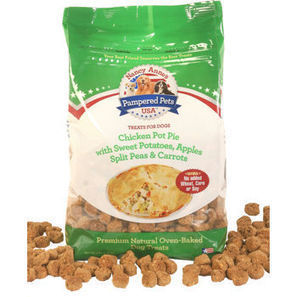 Pampered Pet Chicken Pot Pie Dog Treats, 2 - 5lb Bags, Made in the USA   Everyone Should Own A Pet   Scoop.it