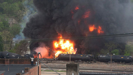 As New Shipping Rules Are Studied, Another Oil Train Derails | Sustain Our Earth | Scoop.it