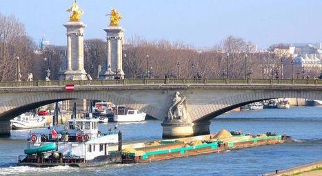 Logistique urbaine: vers un renouveau du transport fluvial - BFMTV.COM | Logistique et Transport GLT | Scoop.it