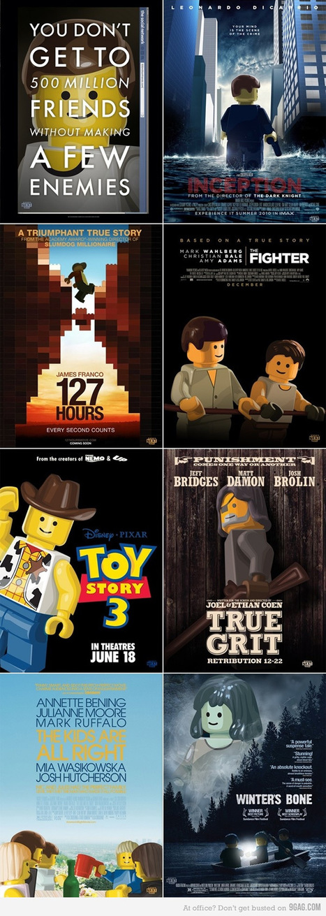 - Obvious Winner - Oscar Best Picture Nominations Recreated inLEGO | All Geeks | Scoop.it