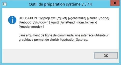 sysprep, avant le clonage de votre machine Windows | Informatique | Scoop.it