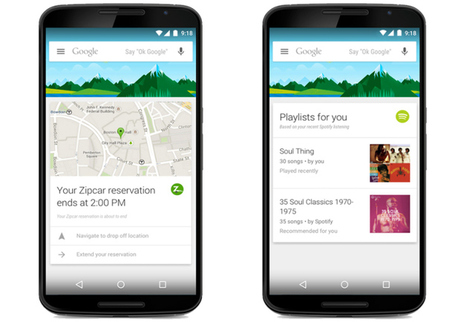 Google Turns On Google Now Cards For 70 New Apps - TechCrunch | Learning on the Fly | Scoop.it