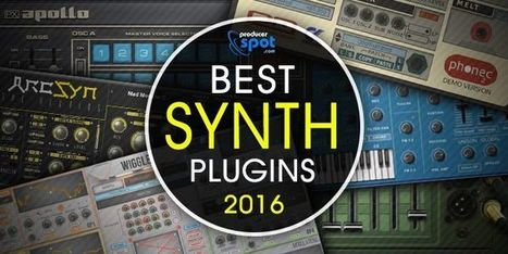Best Software Synthesizers Released in 2016 | Music Producer News - Loops & Samples | Scoop.it
