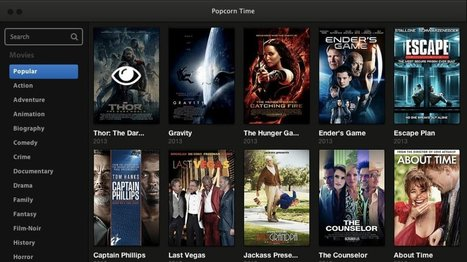 Popcorn Time service for pirated movies refuses to stay shut down | leapmind | Scoop.it