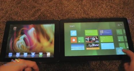 iPad iOS 5 vs tablette sous Windows 8 ! | Le Journal du Geek | Richard Dubois - Mobile Addict | Scoop.it