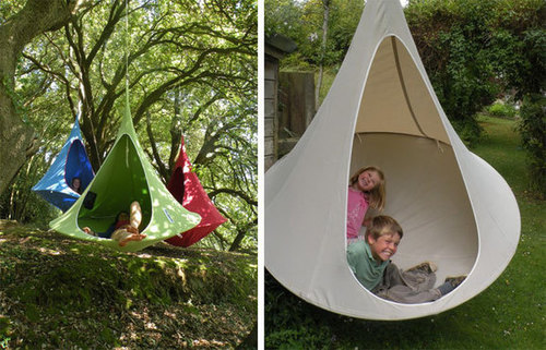 Merveilleux Cacoon Swing Chair #Design
